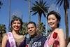 Happy trio, Riverside, CA