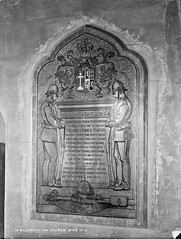 Church, Interior Memorial, Ballyshannon, Co. Donegal (National Library of Ireland on The Commons) Tags: robertfrench williamlawrence lawrencecollection lawrencephotographicstudio thelawrencephotographcollection glassnegative nationallibraryofireland church memorial ballyshannon codonegal military police riflesreversed ulster tridanlionsa gweedore districtinspector williammartin ric derrybeg royalirishconstabulary fathermcfadden williamlimrickmartin