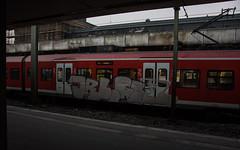 _DSC7742 (Under Color) Tags: hannover graffiti train steel db strain sbahn hauptbahnhof hbf mainstation streetart art subwayart kunst vandals