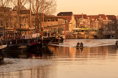 Golden Hour in Leiden, Netherlands (Peter Branger) Tags: activeassignmentweekly goldenhour netherlands leiden cityscape outdoor canoneos7dmarkii canonef24105mmf4lisusm bestofweek1 bestofweek2 bestofweek3