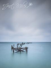 Swanage Old Pier (MilesJanet) Tags: swanage pier oldpier longexposure water sea