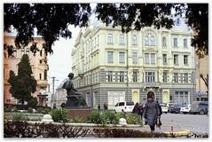 Teatralna Square (Elisabeth Platz) in Chernivtsi, Ukraine. (Ігор Кириловський) Tags: teatralnasquare elisabethplatz chernivtsi ukraine slr fujica stx1 xfujinon ebc 50mm f16 kodak colorplus 200