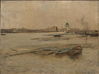'Blackfriars Bridge and the Thames, London' by Jules Bastien-Lepage