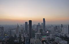 Thailand - Bangkok - view from Moon Bar (Harshil.Shah) Tags: bangkok skyline view rooftop bar moonbar sunset skyscraper downtown city urban thailand asia