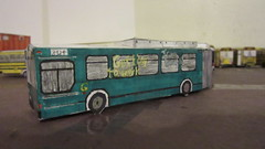 X289 - Port Authority Bus 3124 (Etienne Luu) Tags: paper bus model cardstock port authority allegheny county paac patransit pa transit pat neoplan usa an460 public transportation articulated artic 60 footer foot