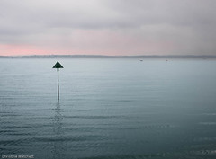 Solent view (Chris A M) Tags: solent gosport stokesbay sea seascape blue sky colour fuji xpro2