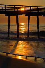 Beach Sunrise (PMillera4) Tags: beachsunrise beach sunrise dawn fishingpier sun newjersey jerseyshore
