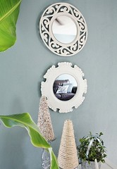 beautiful-mirrored-wall-display-design (dearlinks) Tags: diy lavish beautiful wonderful stunning gorgeous amazing charming creative home decor trends designs improvement projects ideas plans tips inspiration