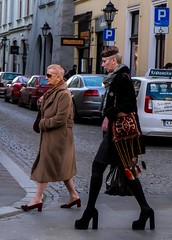 High (Kornelson) Tags: high hightower woman women walk street uraban urbanexpolre fuji fujinon fujifilm xt1 krakow poland