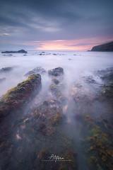 """Ethereal Sea"" (arq.alextoro) Tags: sea seascape ocean seashore seaside mar landscape waves water sunset twilight atardeceres crepusculo"