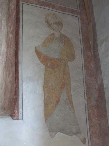 fresque figurant l'imperatrice Adelaïde