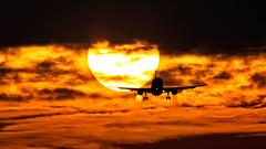 easyJet Airbus A319 G-EZIO (Ewout Pahud de Mortanges) Tags: aviation airport aicraft easyjet airbus outdoor sunset sun suncross schiphol luchthaven luchtvaart airliner airliners airlinersnet jet jetliner jetphotos twinjetimagescom canon flickr clouds