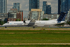 C-GLQV (Porter Airlines) (Steelhead 2010) Tags: bombardier dhc8 creg porterairlines ytz dhc8q400 cglqv