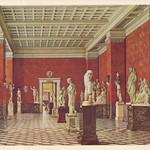 old postcard, Leningrad