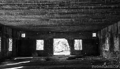 Salle de communications radio depuis laquelle Hitler a dirigé toutes les opérations, depuis les mouvements de guerre jusqu'à la solution finale. Oui, ça fait froid dans le dos.