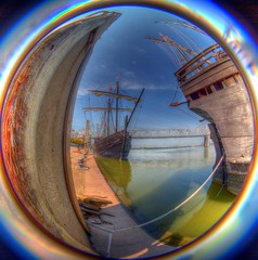 The Nina & The Pinta (Phyllis74) Tags: columbus water boat ship kentucky ky replica louisville nina 1942 christophercolumbus ohioriver pinta waterfrontpark thenina thepinta