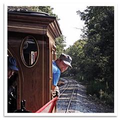 Joe at the Throttle (bogray) Tags: train ky replica american versailles locomotive engineer 440 leviathan steamengine woodfordcounty bgrm bluegrassrailroadmuseum cprr63 klokelocomotiveworks