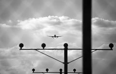 Aviation Silhouettes - B&W (CAUT) Tags: bw silhouette plane airplane airport nikon colombia bogota aircraft aviation bn eldorado silueta bog flugzeug aeropuerto spotting avion aviacion spotter d610 13r skbo bogotadc aeropuertoeldorado eldoradoairport runway13r