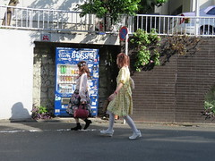 Space Invader TK_11 (tofz4u) Tags: street people streetart girl japan walking tile tokyo mosaic spaceinvader spaceinvaders invader rue japon mosaque artderue tk11