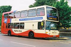 Brighton&Hove-674-JohnConstable-YN07UOG-Portslade-280508b (Michael Wadman) Tags: scania portslade johnconstable brightonhove yn07uog