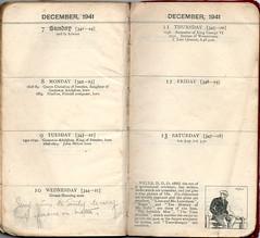 Week 50 7th - 13th December 1941 (richardmlevett) Tags: hurricane jerry malta b17 naples sicily blenheim convoy beaufort 1941 raf wimpy iti sliema valletta valetta airraid whitley luqa hmsnaiad wardiary takali siegeofmalta