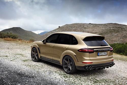 Porsche Cayenne Vantage Gold Edition