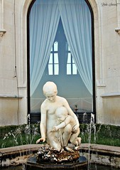 Purezza (sancinlinda) Tags: old italy sculpture baby art history water fountain architecture mother splash perfection trieste freshness purity castellodimiramare