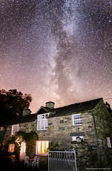 The Nook & Milky Way (mlpix.co.uk) Tags: night stars cottage astronomy milkyway milyway