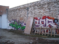 AWOL & ARES (Billy Danze.) Tags: chicago graffiti d30 awol dc5 ares 3fk