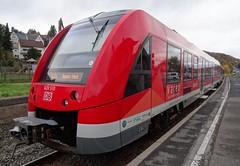 DB Diesel motor trainset N 620.510  in Bad Mnstereifel. (Franky De Witte - Ferroequinologist) Tags: de eisenbahn railway estrada chemin fer spoorwegen ferrocarril ferro ferrovia