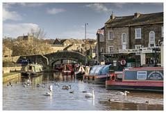 Skipton Canal Basin (Digital Wanderings) Tags: canal northyorkshire skipton boatbasin leedsliverpoolcanal narrowboats boattrips penninecruisers