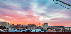 Atardecer (chakalinux) Tags: sunset espaa atardecer puesta burgos castillaylen cielorojo