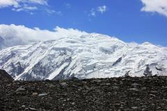 tien shan mountains (beudii) Tags: snow mountains ice landscape asia tian central peak glacier berge shan kyrgyzstan tien gipfel kirgistan inylchek kirgisistan