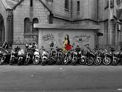 (Giovanne Ferreira) Tags: streetart graffiti monalisa davinci tars