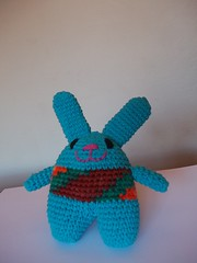 Mini Adam (Miss Carlaina Love!) Tags: rabbit art kids toys dolls handmade crochet amigurumi