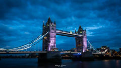 #Tower #Bridge #London (graser.robert) Tags: tower bridge london night blue hour westminster greatbritain england robertgraser photography artist