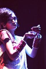The Performer (ainulislam) Tags: dancer artist colour color sturation colorbalance retro bangla dhaka singing lamp saree sharee churi performer shadow sharp shade dhakagram dhakagraam
