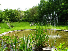 Gravelpond fountain