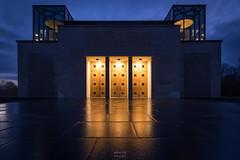 Le Mémorial de Verdun (FERY Anthony Photographie) Tags: verdun france fleury guerre histoire meuse nuit dark night blue bleue pentax pentaxk3 sigma 1418 1914 war