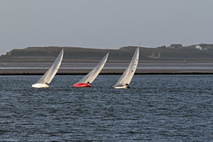 Sailing on the Edge (Roy Lowry) Tags: sailing westkirby hilbreisland