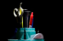 Desk tidy art - Radial blur. ((c) MAMF photography..) Tags: art arty colour d7100 flickrcom flickr google googleimages greatphotographers greatphoto mamfphotography mamf nikon nikond7100 photography photo