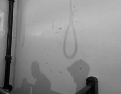 Shadows (bishib70) Tags: noose hanging jail crumlinroad gaol belfast prison capitalpunishment