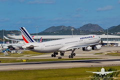 Air France A340-300_AS5J2173 (RJJPhotography) Tags: sxm tncm princessjulianainternationalairport caribbean vacation
