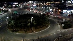 Timelaps (danielebenvenuti) Tags: regulartraffic trafficoregolare auto car veicoli vehicle rotatoria città city southcorea notturno night luci light timelaps speed