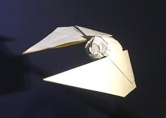 TIE Striker origami (Matayado-titi) Tags: sugamata spaceship starship starwars space starfighter shusugamata origami rogueone tie tiefighter tiestriker striker matayado