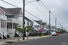 The housing along the Atlantic coast is pretty standard. All houses look wooden and white, with slight modifications of front porches (kucheryavchik) Tags: america atlantic capemay east eastcoast nj newjersey usa coast ocean roadtrip roadtrip2016 oceancity unitedstates us