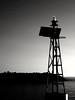 lightup! (kallchar) Tags: light lighthouse sea ocean blackandwhite blackwhite dark black stones sky olympusomdem10 art beacon night nighttime