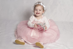 IMG_1471 (DouxVide) Tags: girl baby toddler pink dress tutu tulle