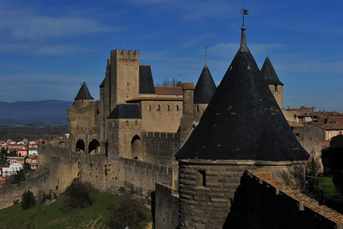 Carcassonne, Languedoc-Roussillon, France January 2017 D 700 023