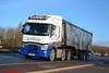Renault Range T 'Wilkinson Transport' reg P10 WBT (erfmike51) Tags: renaultranget truck artic euro6 bulktipper lorry wilkinsontransport